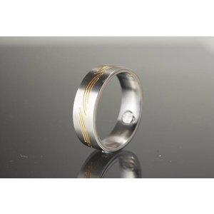 R105 Eleganter Magnetschmuck Ring