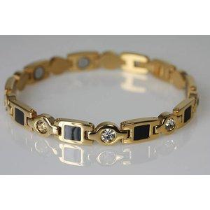 8431G Magnetschmuck Armband mit Zirkonia