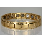 "NEU! 8262G-4 Extrastarkes Magnetarmband ""Gold"""