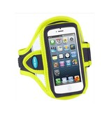 Tune Belt AB87RY Sport armband reflecterend geel