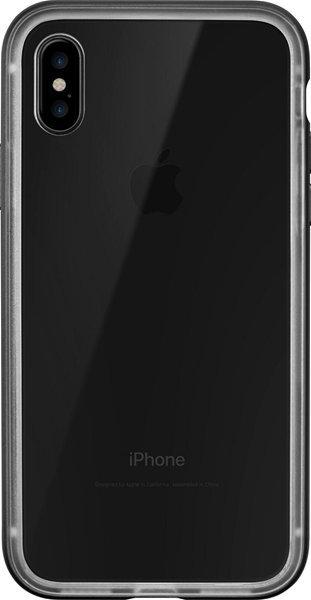 LAUT Exo Frame iPhone X Gun Metal
