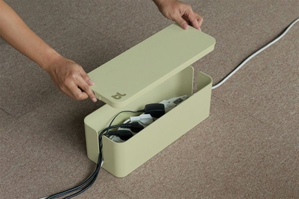 Bluelounge CableBox Light Sage