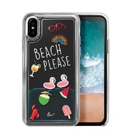 LAUT Pop iPhone X Beach Please
