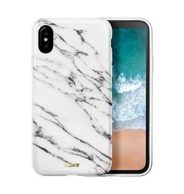 LAUT Huex iPhone X(s) Marble White