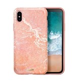 LAUT Huex iPhone X(s) Marble Pink