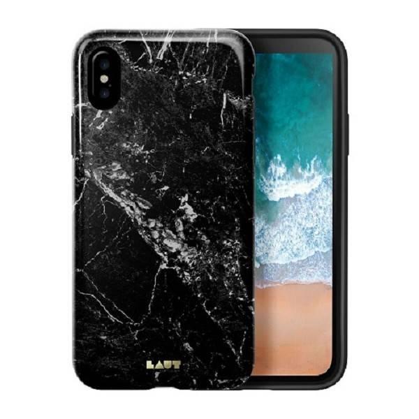LAUT Huex iPhone X(s) Marble Black