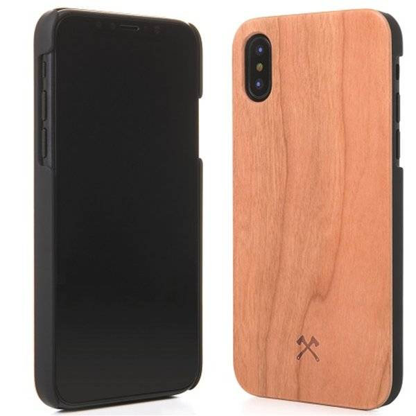 Woodcessories EcoCase-Classic Cherry/Black iPhone X(s)