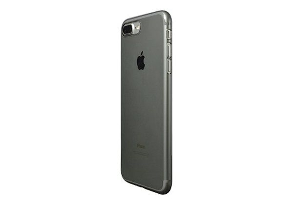 Power Support Air Jacket iPhone 8P Clear Black