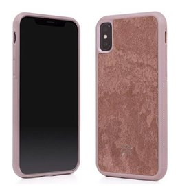 Woodcessories EcoCase Stone Airshock Red iPhone X(s)