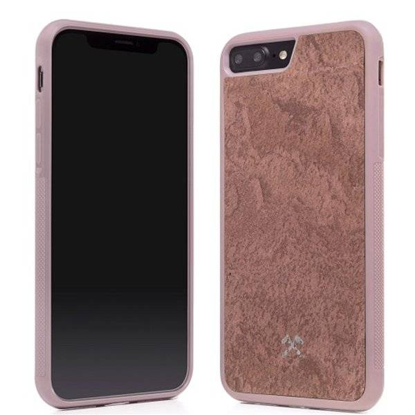 Woodcessories EcoCase Stone Airshock Red iPhone 7/8P