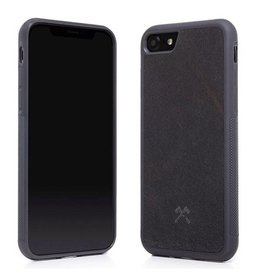 Woodcessories EcoCase Stone Airshock Black iPhone 7/8