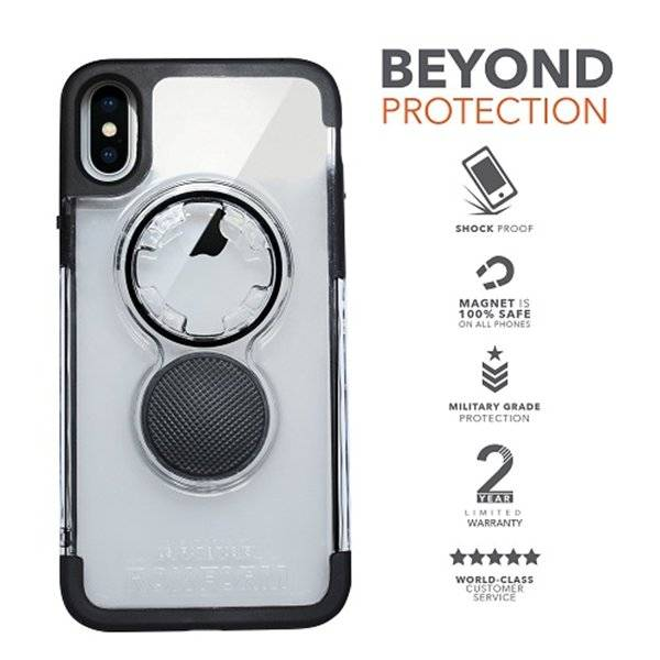 Rokform Crystal Case iPhone X(s) Red