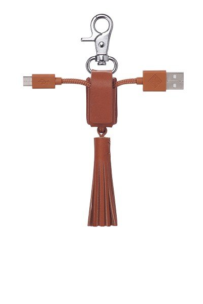 Native Union Power Link Tassel Micro USB Gold