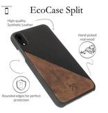 Woodcessories EcoSplit Walnut/Black iPhone XR
