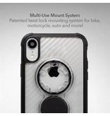 Rokform Crystal Carbon Black iPhone XR