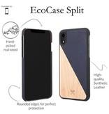 Woodcessories EcoSplit Maple/Navy iPhone XR