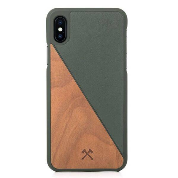 Woodcessories EcoSplit Cherry/Green iPhone Xs Max
