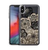 LAUT Liquid iPhone Xs Max Glitter Fleur