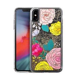 LAUT Liquid iPhone Xs Max Glitter Floral
