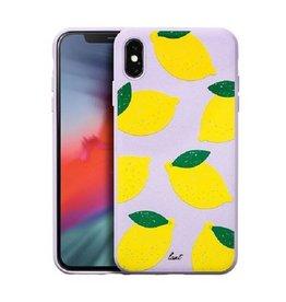 LAUT Tutti Frutti iPhone Xs Max Lemon