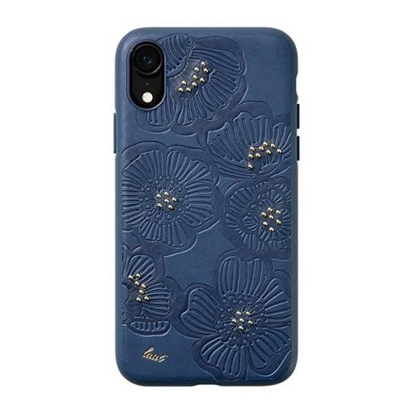 LAUT Flora iPhone XR Indigo