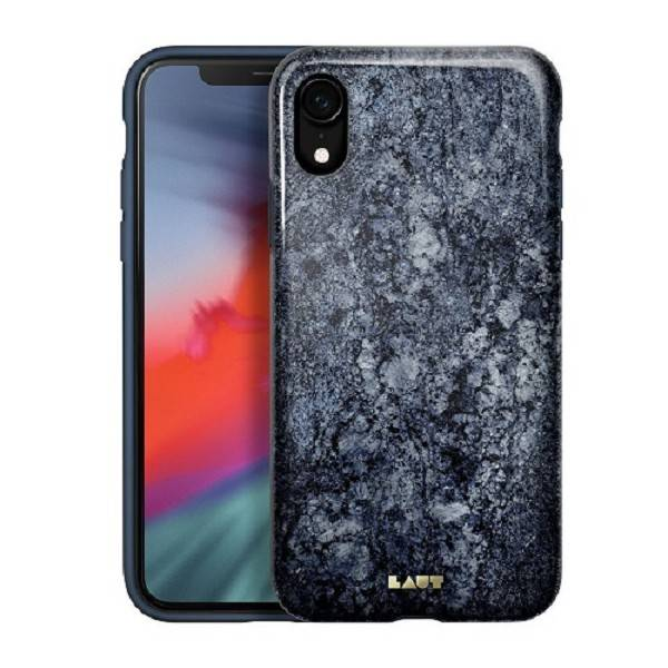 LAUT Huex-E iPhone XR Marble Blue
