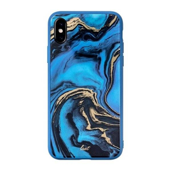LAUT Mineral Glass iPhone X(s) Blue