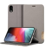 LAUT Prestige Folio iPhone XR Taupe