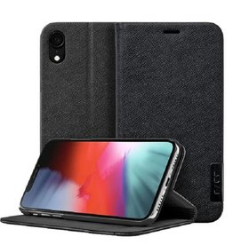 LAUT Prestige Folio iPhone XR Black