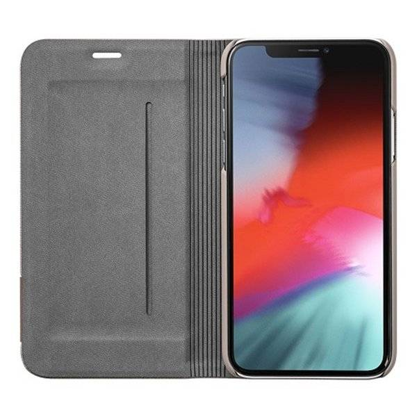 LAUT Prestige Folio iPhone Xs Max Taupe