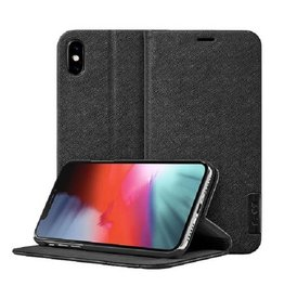 LAUT Prestige Folio iPhone Xs Max Black