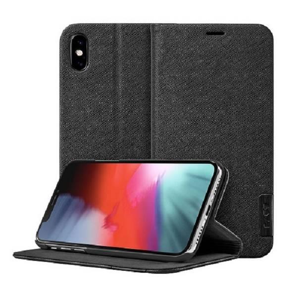 LAUT Prestige Folio iPhone Xs Max Black