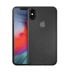 LAUT Slimskin iPhone X(s) Matt Black
