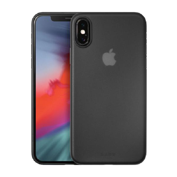 LAUT Slimskin iPhone X(s) Matt Black