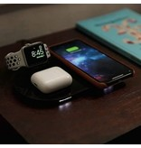mophie 3-in-1 Wireless Charging Pad Black