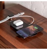 mophie Dual Wireless Charging pad Black - EU
