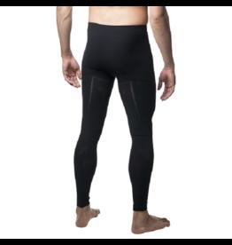 Megmeister Warm Base Layer Tights Men Black L/XL