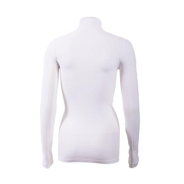 Megmeister High Neck Base Layer Women White M/L