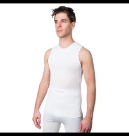 Megmeister Sleeveless Base Layer White One Size