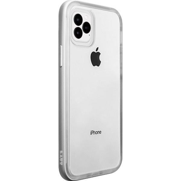 LAUT Exo-Frame iPhone 11 Pro Silver