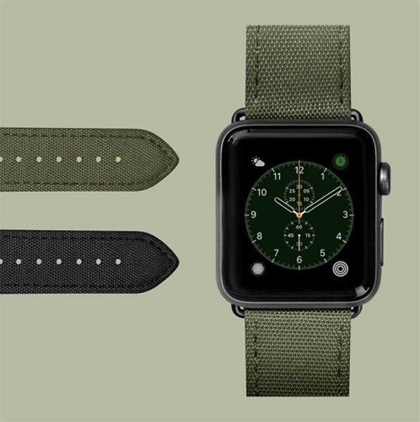 LAUT Technical AW 38/40mm Military Green