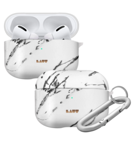 LAUT Huex Elements AirPods Pro Marble White