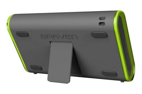 Braven 405 Waterproof BT Speaker Silver/green