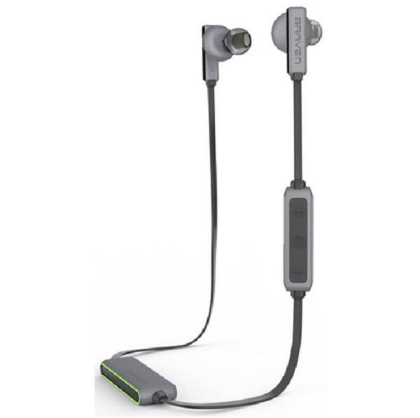Braven Flye Sport Wireless Earbuds Silver/Green