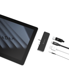 ADAM elements CASA S4 USB-C 3.1 4 port Surface Go Hub