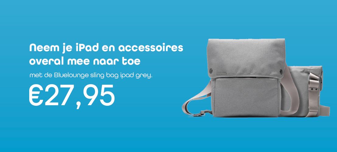 €27,95met de Bluelounge sling bag