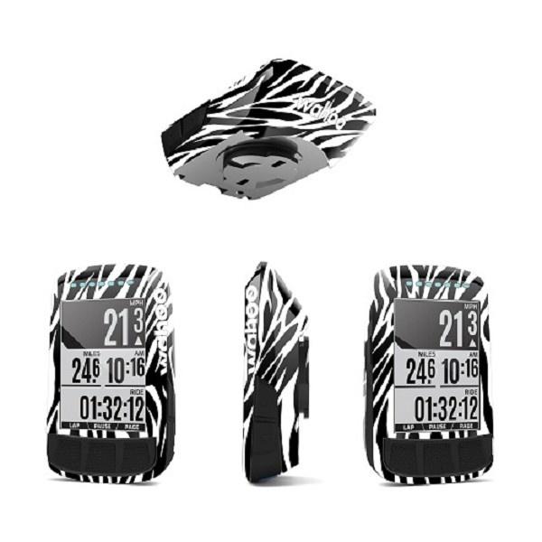 Wrap My Bike Wahooskins BOLT Zebra