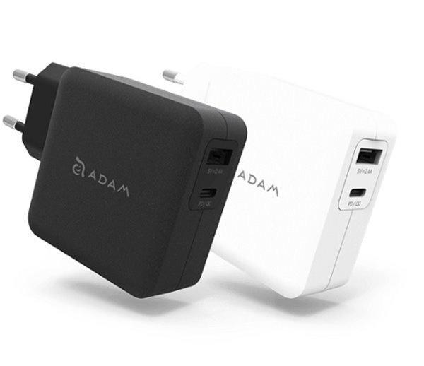 ADAM elements OMNIA F2 USB-C Wall Charger Black