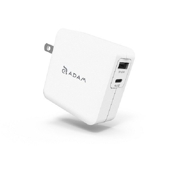 ADAM elements OMNIA F2 USB-C Wall Charger White