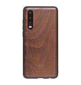 Woodcessories EcoBump Walnut/Black Huawei P30